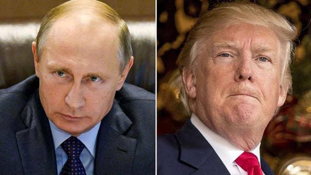 Media hype President Trump's meeting with Putin
