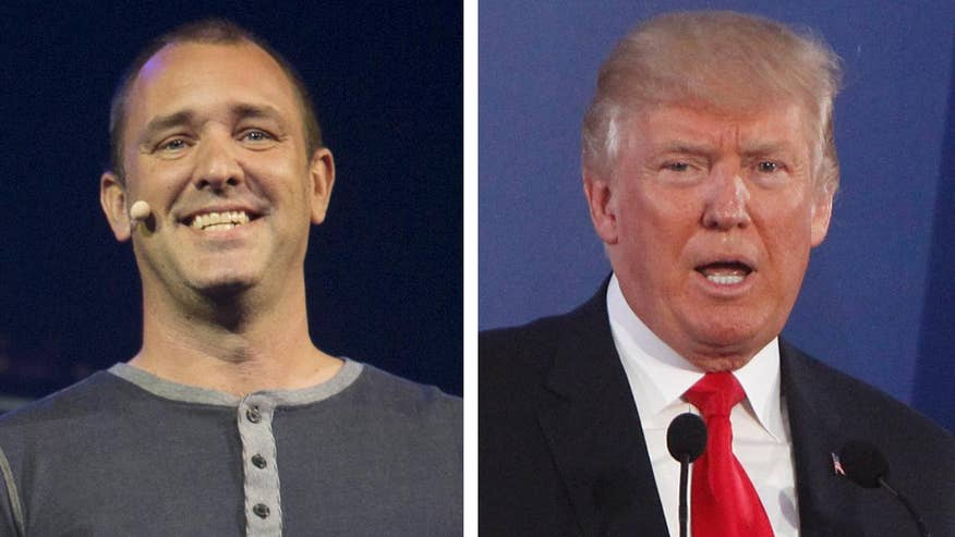 Fox411: 'South Park' creator Trey Parker say the show will not focus on Trump the way others do