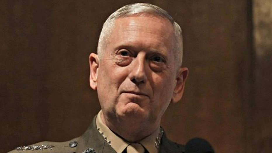 Secretary Mattis downplays talk of war with North Korea
