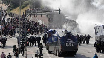 G-20 protests: Hamburg police call in more officers on 2nd day of demonstrations