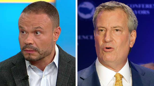 Dan Bongino: The cops I know can't stand Bill de Blasio
