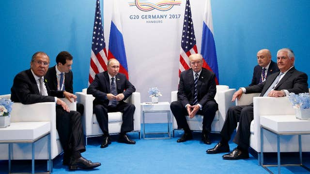 Trump and Putin cover a lot of ground during meeting