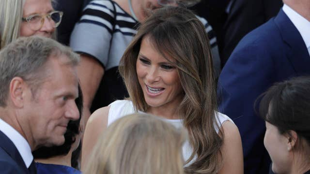 Melania unable to attend events due to G-20 protesters