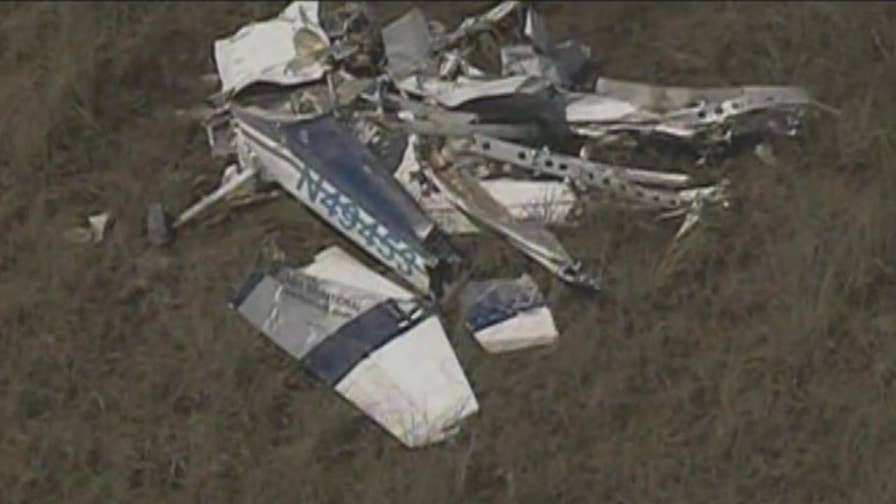 Raw video: Searchers found wreckage seven miles west of Homestead, Florida