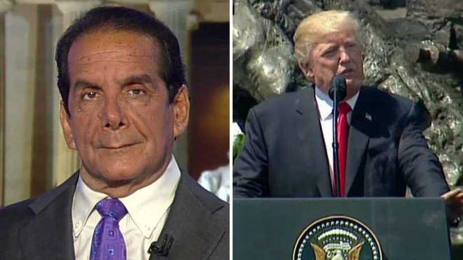 Krauthammer: Trump's Warsaw speech was his best, Reaganesque
