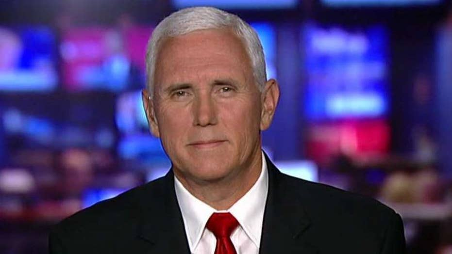 Mike Pence: Trump shows unapologetic American leadership