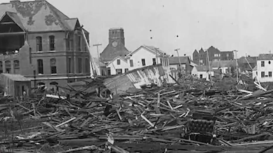 A look back at the devastating 1900 Galveston hurricane