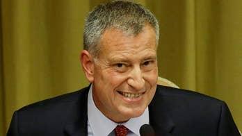 G-20: NYC Mayor Bill de Blasio slammed on 'The Five' for trip to Germany