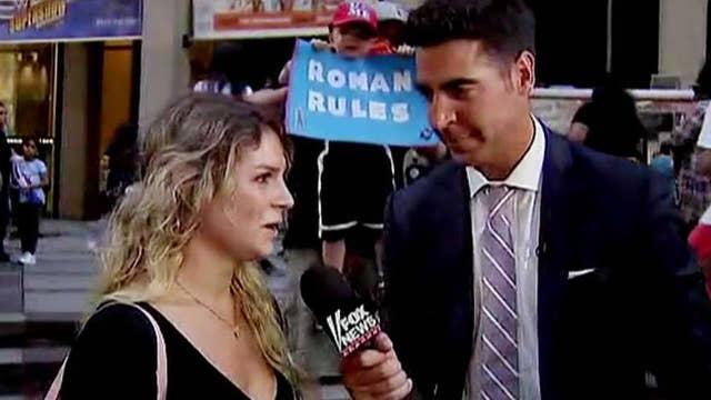 Trump vs. CNN: Jesse Watters checks in with wrestling fans