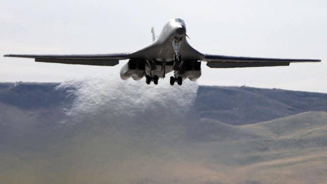 U.S. Air Force drops dummy bomb near Korean DMZ
