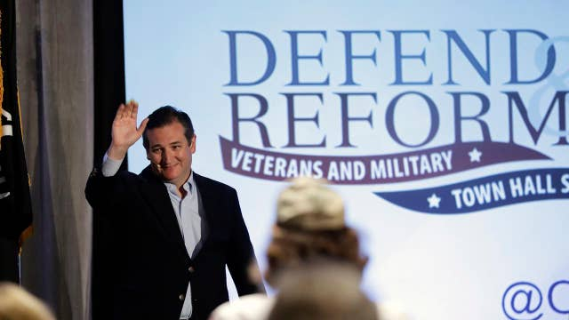 Concerned Veterans for America holds town halls with Cruz