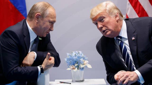 Eric Shawn reports: The Pres. Trump vs Putin sit down