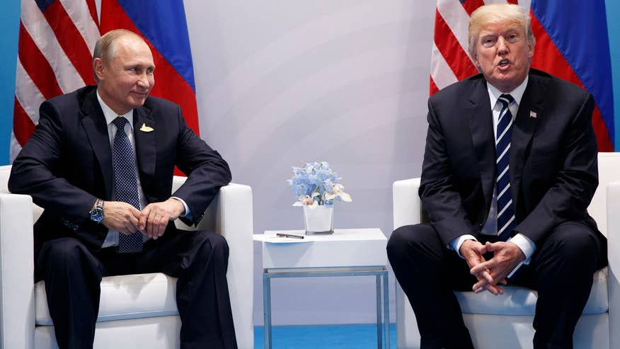 President Trump and Vladimir Putin meet for first time; reaction and analysis on 'The Five'