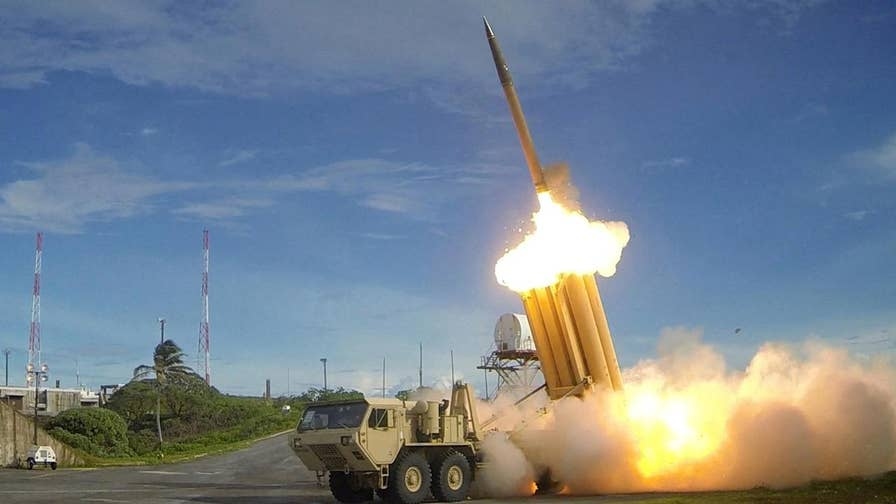The US prepares a new THAAD test to shoot down a missile