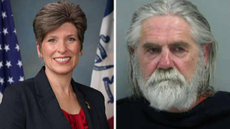 Nebraska man accused of threatening Sen. Joni Ernst