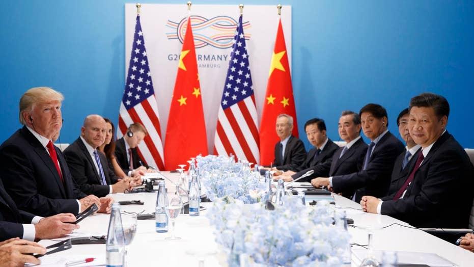 President Trump talks NKorea, trade with President Xi