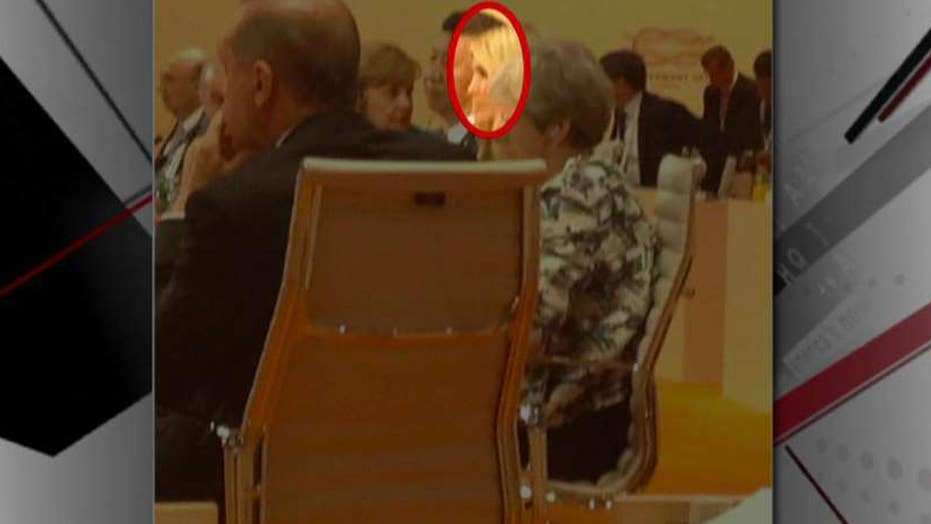 Ivanka Trump briefly sits in for her father at G-20 summit