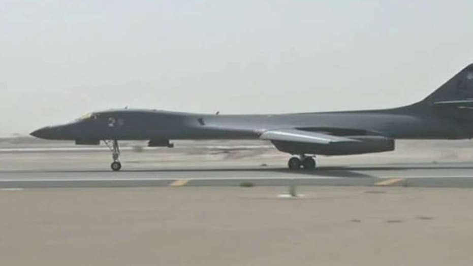 US Air Force B-1 bombers fly near NKorea in show of force