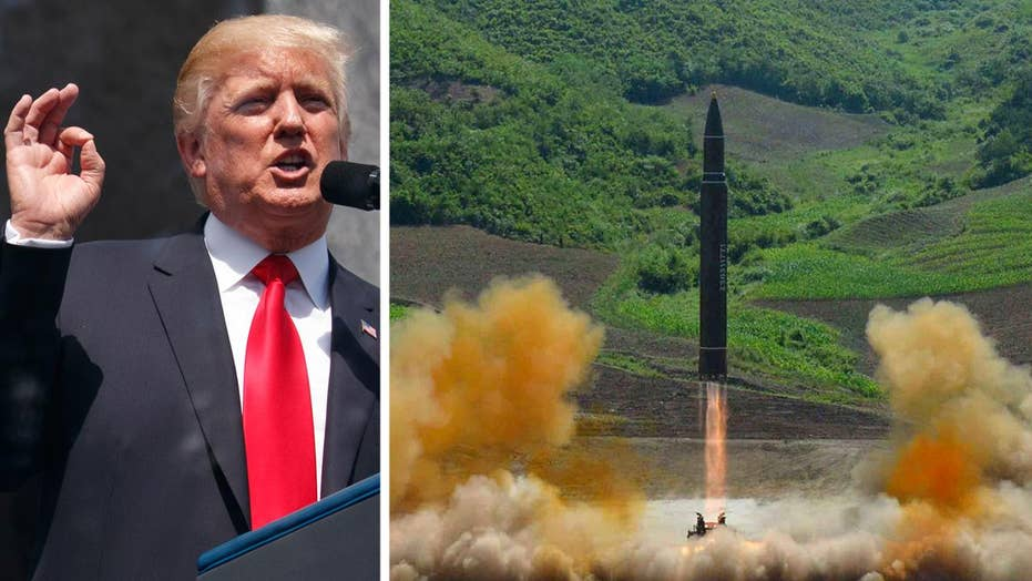WH weighing options in response to NKorea ICBM test