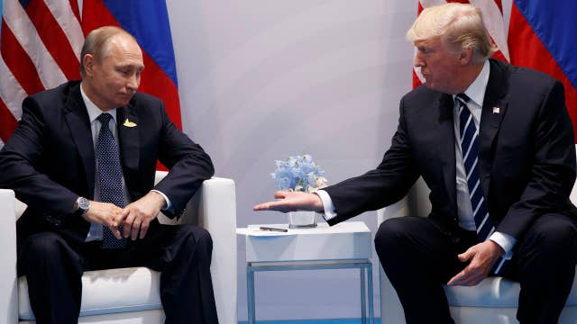 Trump meets with Putin as protests erupt at G-20 summit