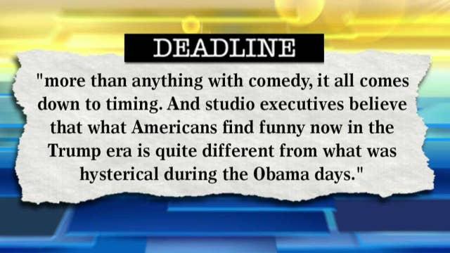 Hollywood fears jokes no longer funny under Trump