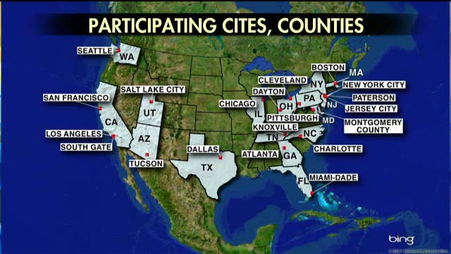 Sanctuary Cities Promise To Make Million Immigrants Citizens In - Map of us sanctuary cities