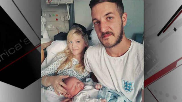 Charlie Gard's parents deliver petition to bring son to US