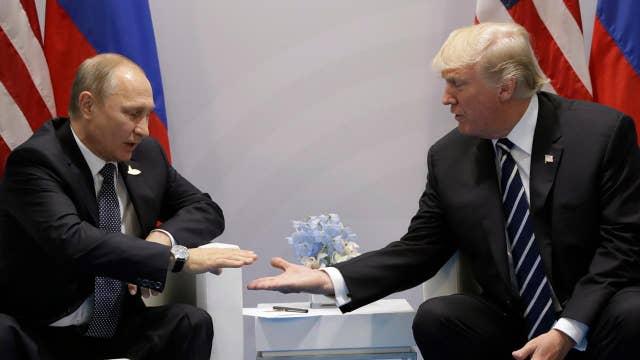 Eric Shawn reports: The President Trump-Putin sit down