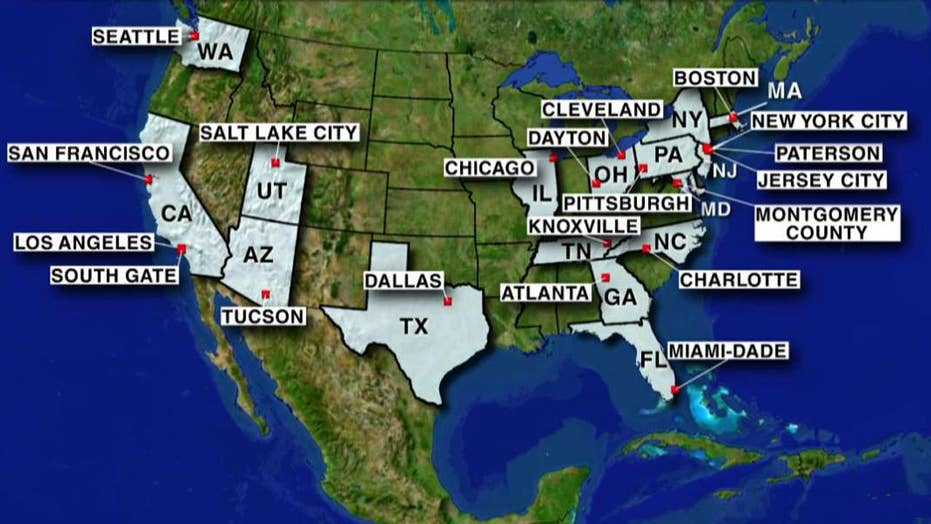 Sanctuary Cities Promise To Make 1 Million New Us Citizens In Year - Map-of-us-sanctuary-cities