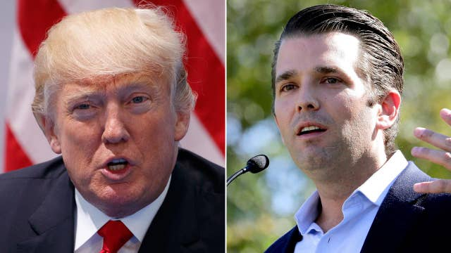 Trump, son push back on NYT report on Russia collusion