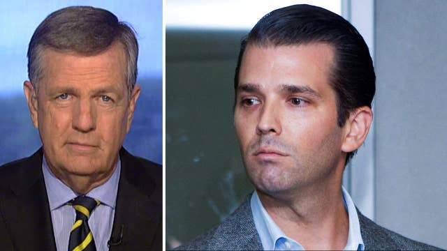 Hume on Trump Jr. collusion claim: What's the fuss about?