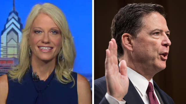 Conway: Comey classified memo leaks an incredible bombshell