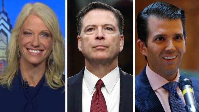 Conway talks Comey memos, Trump Jr. collusion allegations