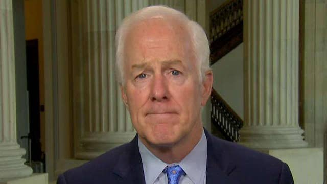 Cornyn on chances of passing health care bill before recess