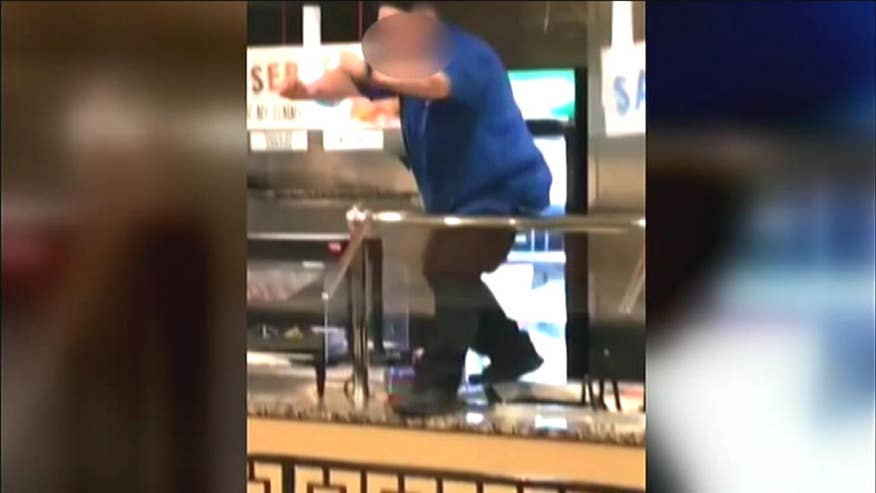 Employees recorded dancing on countertops, throwing food on their last day of work at Michigan pizzeria