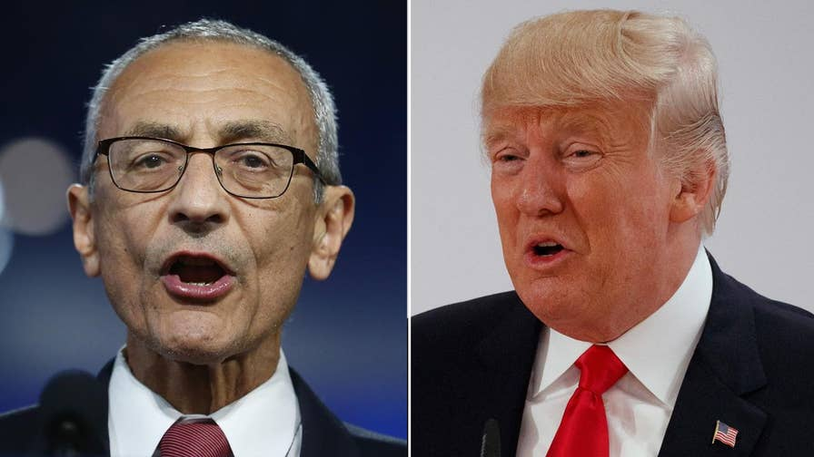 Podesta fires back at Trump with tweet