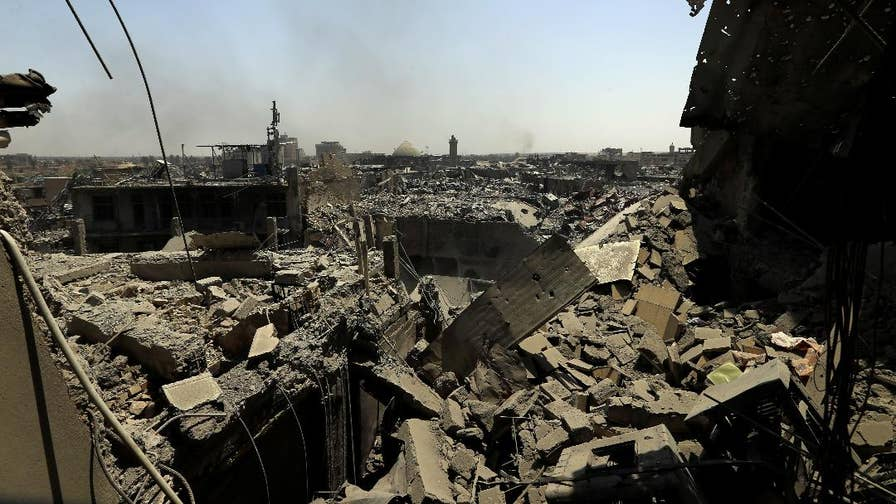 ISIS has finally been driven out of Mosul. Here's a look at the devastation of Iraq's second largest city following three years of brutal, bloody Islamic State control