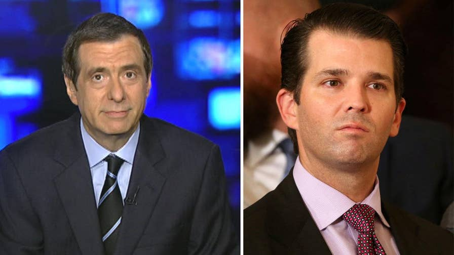 'MediaBuzz' host Howard Kurtz weighs in on the fallout from the New York Times story alleging Donald Trump Jr. met with a Kremlin-linked lawyer who offered compromising information on Hillary Clinton