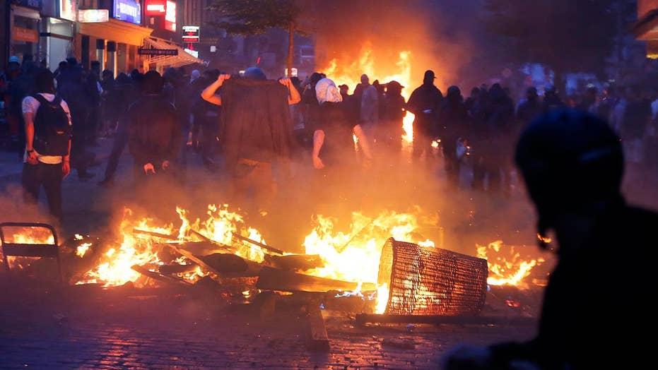 More violence in Hamburg, Germany following G20 summit