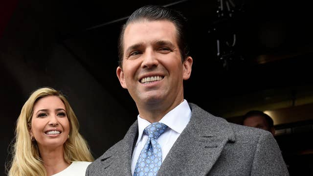 Donald Trump Jr. pushes back on Russia meeting reports