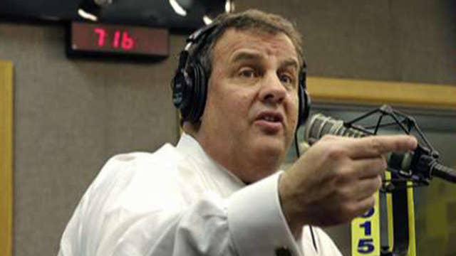 Christie calls constituent a 'bum' during radio show