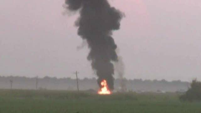 Witnesses shaken by deadly military plane crash