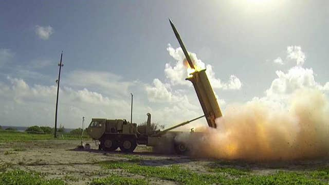 US holds successful THAAD missile test in Alaska
