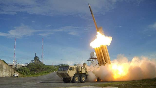 US tests anti-ballistic missile system in response to NKorea
