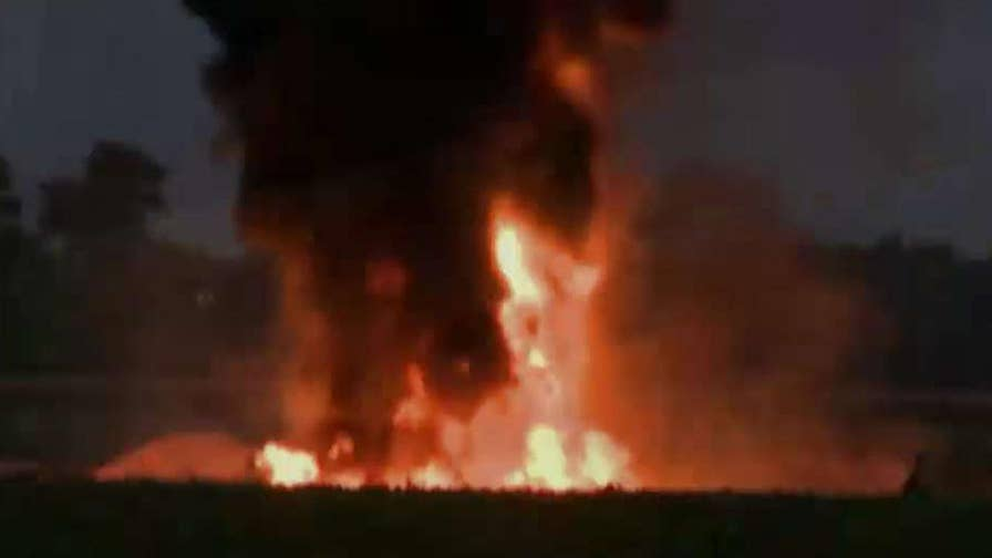 At least 16 servicemen were killed when the plane went down in Mississippi
