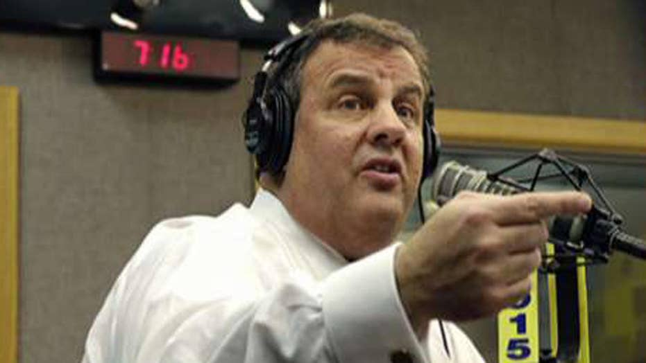 Christie calls constituent a 'bum' during radio show