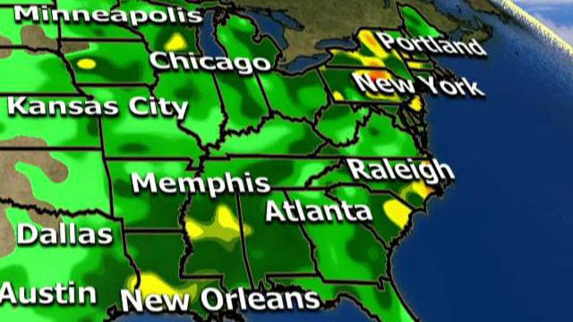 National forecast for Wednesday, July 12