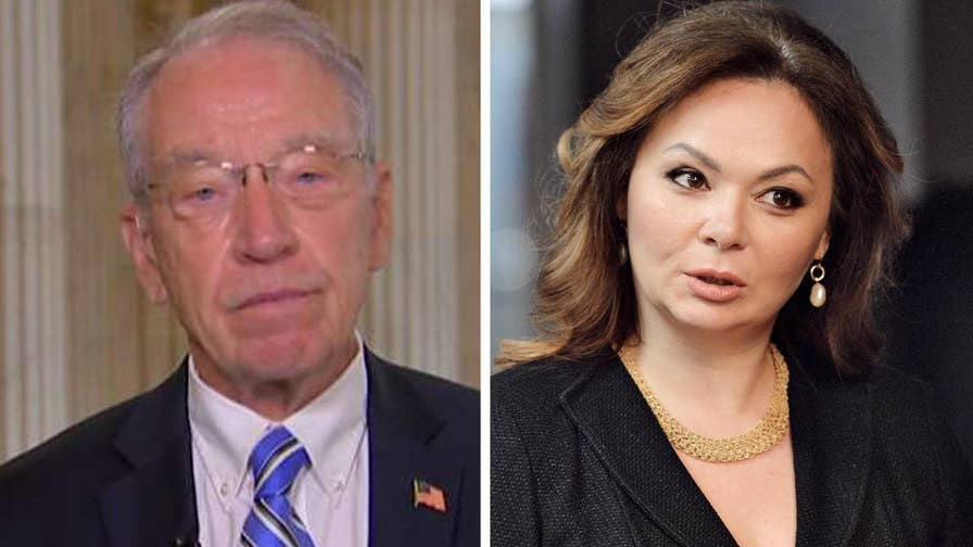 Chairman of the Senate Judiciary Committee gives his take on Trump Jr. meeting controversy on 'Fox & Friends'