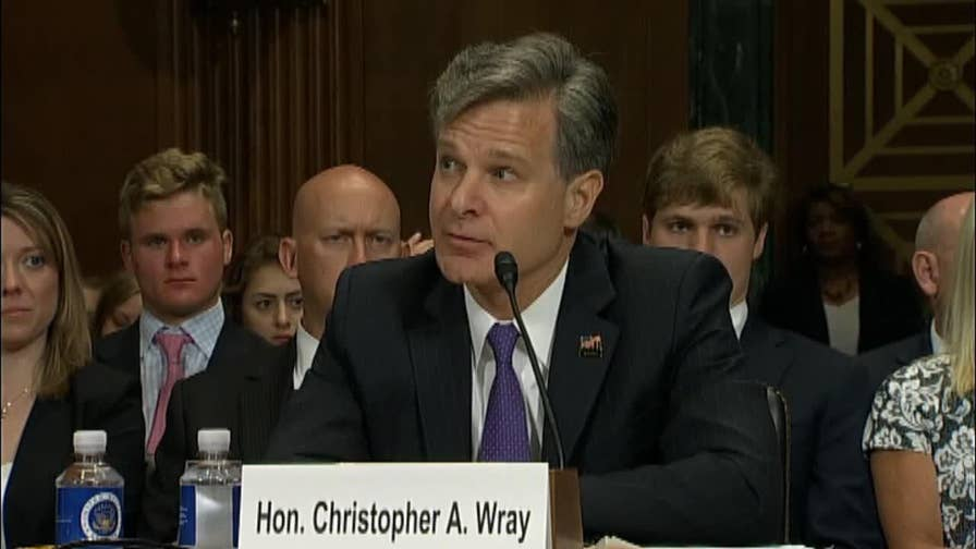 Former FBI Directors Robert Mueller and James Comey provided a major source of commentary for Chris Wray during his confirmation hearing. So what did he have to say about them?