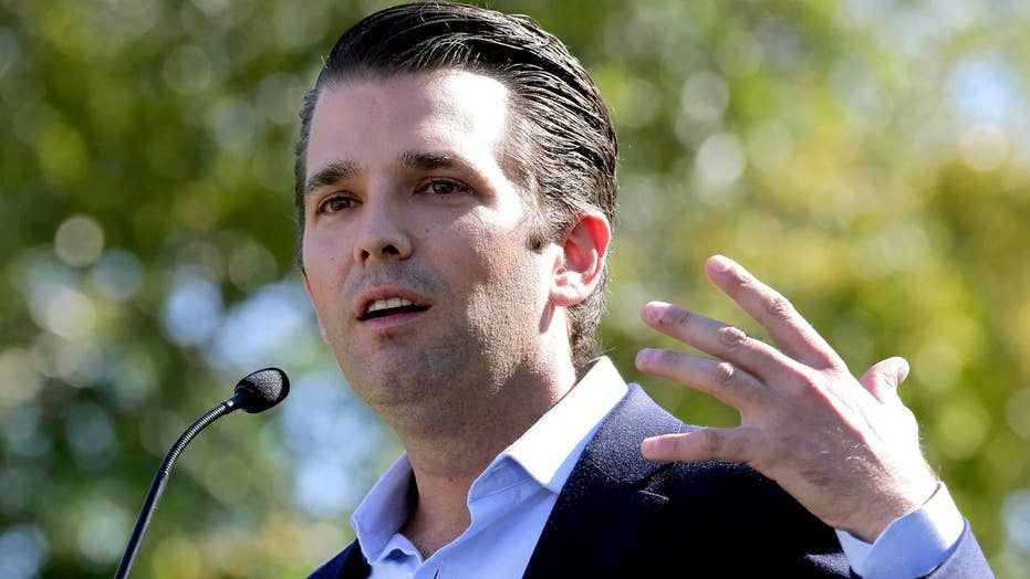 White House responds to Donald Trump Jr.'s email exchange